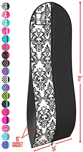 Top 10 recommendation garment bags for long dresses monogram for 2019