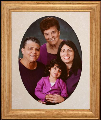 Amazoncom 8x10 Jumbo Oval Portrait Picturephoto Lightmedium