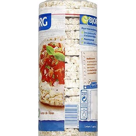 Bjorg - Galette Quinoa Sin Gluten 130G - Lot De 4 - Precio ...