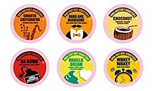 Java Factory Variety Pack Single Cup Coffee for Keurig Brewers, 40 Count