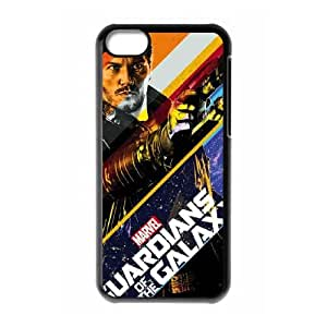 iPhone 5c Cell Phone Case Black Star Lord Stripes LSO7801571