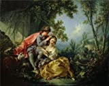 The High Quality Polyster Canvas Of Oil Painting 'Francois Boucher - The Four Seasons-Spring, 1755' ,size: 24x30 Inch / 61x77 Cm ,this High Resolution Art Decorative Canvas Prints Is Fit For Gift For Relatives And Home Artwork And Gifts