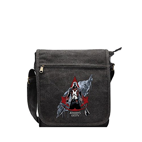 Assassins Creed - Messenger Tasche Umhängetasche - Arno - Unity w2O3IYe