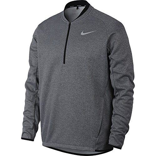 NIKE Men's Therma Half-Zip Golf Top (Anthracite, X-Large)