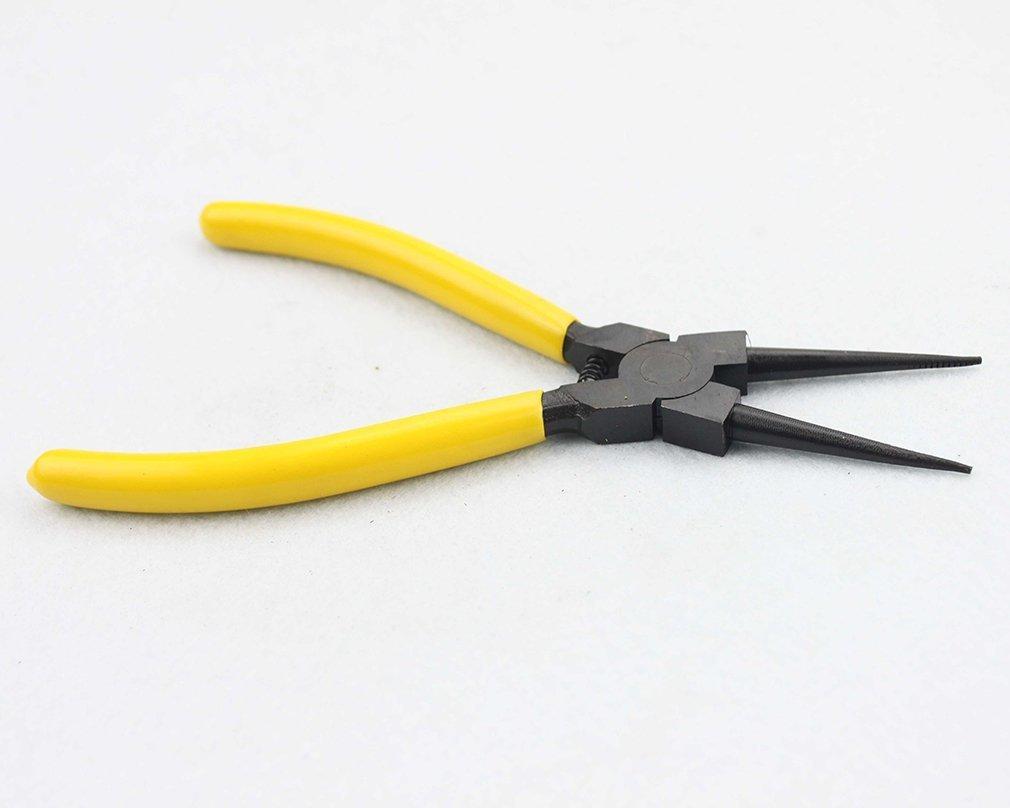 GOOFIT K-06 a mano strumento interno di precisione dritto ritegno Anello elastico Pinze