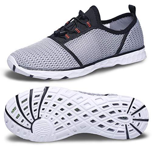 e31a276a2839 Beach Shoes Men Quick Dry Water Sports Shoes Womens Lightweight Water Shoes  Aqua Non Slip Shoe