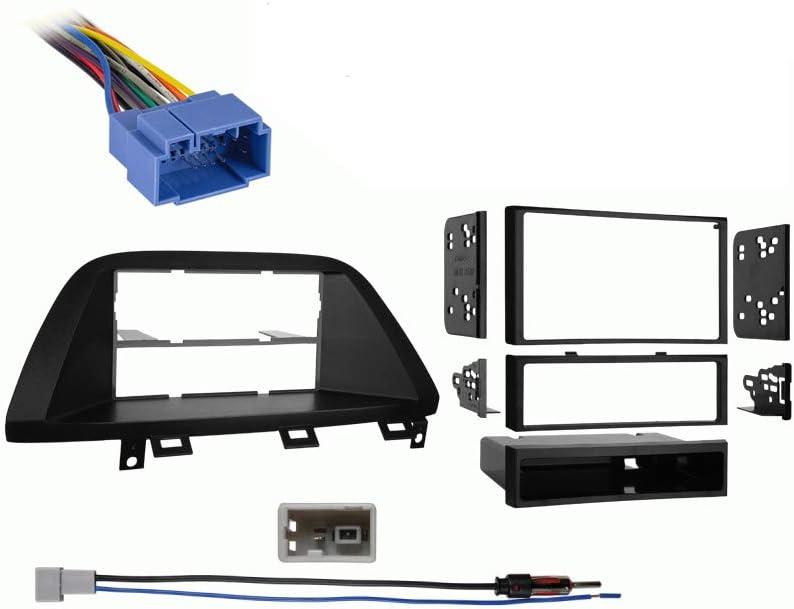 Amazon.com: Compatible with Honda Odyssey 2005 2006 2007 2008 2009 2010  Multi DIN Stereo Harness Radio Install Dash Kit Package: Car ElectronicsAmazon.com