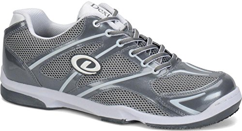 Dexter Men's Max Bowling Shoes (Right Handed Only), Grey/White, 8 ()