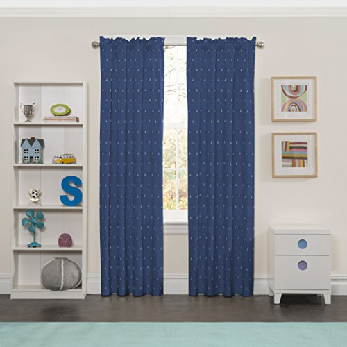 ECLIPSE Kids Curtains for Bedroom Set Sail 42
