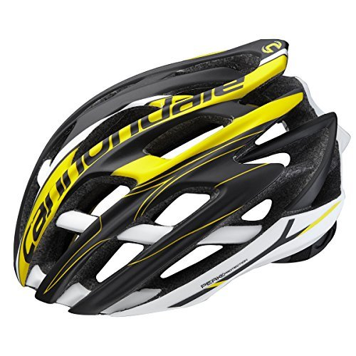 Cannondale Cycling Cypher Helmet (Black Yellow, SM-MD)