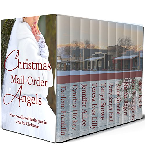 Christmas Mai l Order Angels: Second Edition: 10 Christmas Historical Romances cover