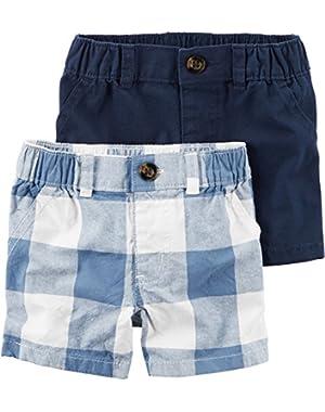 Carter's Baby Boys 2pk Shorts