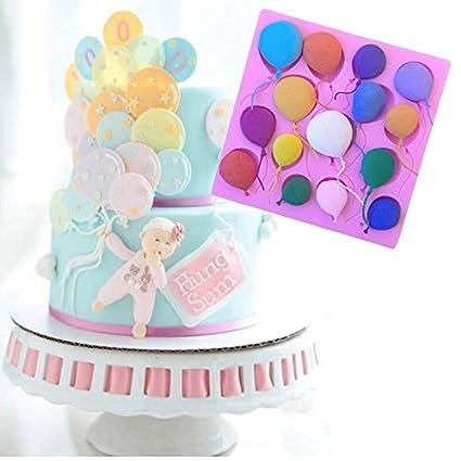 september-europe globos diseño decoración de pasteles molde de silicona, Candy – pequeño para
