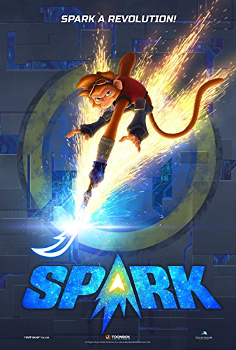 Spark  A Space Tail   Movie Poster  20  X 30   Matte Style  Thick  Spk01