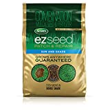 Scotts EZ Seed Patch and Repair Sun and Shade - 20 lb., Combination Mulch, Seed, and Fertilizer, Repairs Bare Spots, Includes Tackifier to Reduce Seed Wash-Away, Seeds up to 445 sq. ft. - 17504