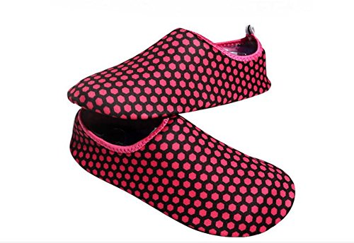 and Mens Socks Beach Womens Water Quick Barefoot eleganceoo Shoes Exercise Yoga Pink3 Dry Aqua for Swim Surf 5g1xq4H