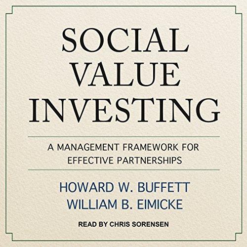 Social Value Investing: A Management Framework for Effective Partnerships by Tantor Audio