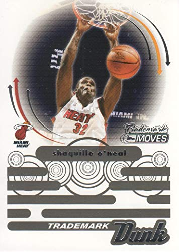 2006-07 Topps Trademark Moves Basketball Dunk #TDU1 Shaquille O'Neal