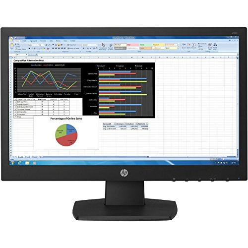 HP Business V223 21.5'' LED LCD Monitor - 16:9 - 5 ms