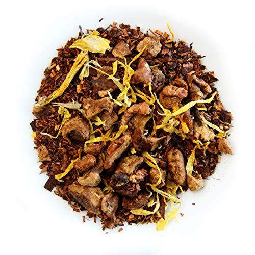 Grindstone Organic Tea Collection | Caramelized Pear | Loose Leaf Tea | PET Snap on Kilner Jars | Pack of 2