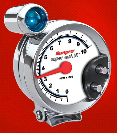 Shift Light Tachometer - 4