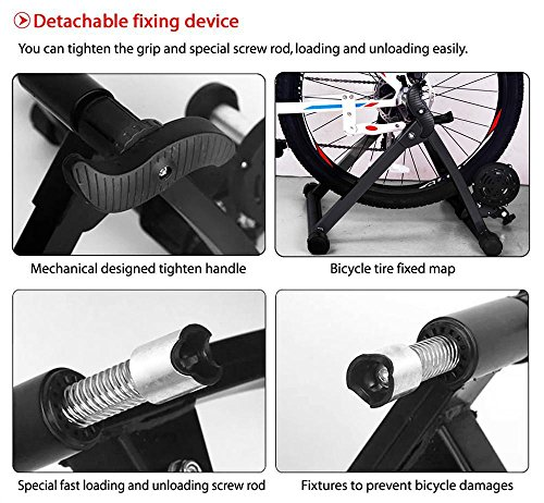 Yaheetech Premium Steel Bike Bicycle Indoor Exercise Bike Trainer Stand by Yaheetech (Image #6)