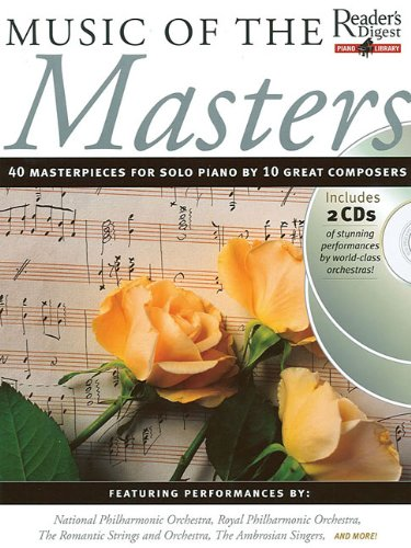 Music of the Masters: Reader's Digest Piano Library Book/2-CD Pack ebook