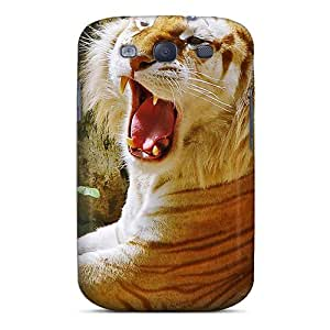 Cute Tpu Team ProMall Golden Tiger Hdtv 1080p Case Cover For Galaxy S3