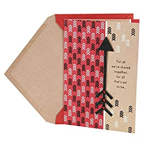 Hallmark Valentine's Day Greeting Card (Arrow)