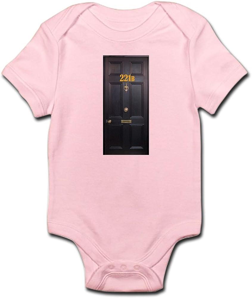 CafePress 221B Door Body Suit Baby Bodysuit