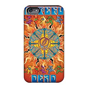 Durable Hard Phone Case For Iphone 6plus With Allow Personal Design High-definition Grateful Dead Band Pictures LauraAdamicska