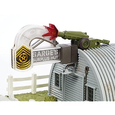 Disney/Pixar Precision Series Sarge's Surplus Hut Playset: Toys & Games
