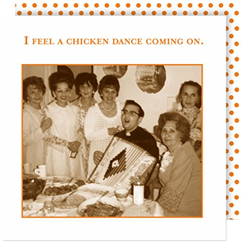 Shannon Martin Design 20-Count 3-Ply Paper Beverage Napkins, Chicken Dance by Shannon Martin Girl Designer (Image #1)