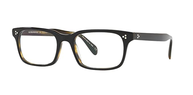 dde495e96c5 Image Unavailable. Image not available for. Color  Oliver Peoples - Cavalon  - 5381 53 1441 - Eyeglasses (Black Olive ...