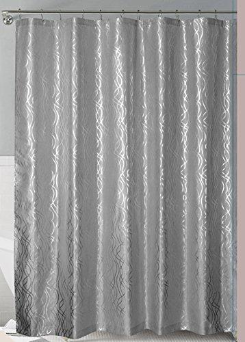 royal-bath-grey-silver-metallic-cadena-de-plata-faux-silk-fabric-shower-curtain-72-x-72-with-roller-