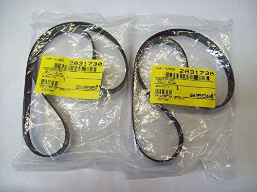 (Ship from USA) 2 Bissell Model 61C5W Total Floors Pet Mylar Belts 2031730 12.8x487