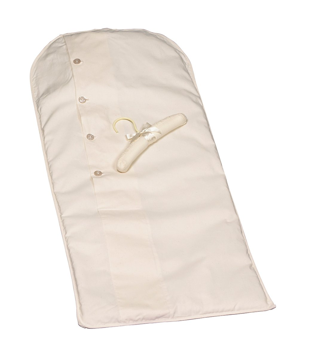 Acid-free Christening or Child size Muslin Garment Bag 38