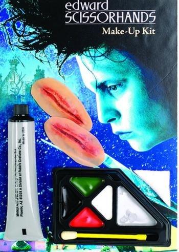 Edward Scissor Hands Makeup Kit, Brown, One Size