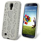 Celicious White Hybrid TPU Combo Case for Samsung Galaxy S4 I9500
