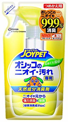 ジョイペット 天然成分消臭剤 オシッコのニオイ?汚れ専用 つめかえ用 240mL × 5個