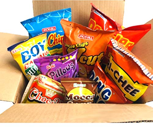 World Food Mission Classic Filipino Snacks Box (Variety 1, 9 pieces) (Christmas Buena Noche Foods)