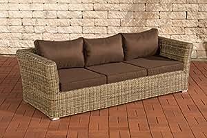3er sofá Mandal Terrabraun naturaleza