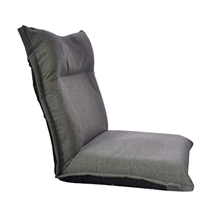 Living Room Chairs High Quality Extended Backrest Lazy Sofa Folding Sofa Bed Japanese Tatami Backrest Chair 5 Steps Adjustable Linen Fabric Seat Grade Products According To Quality