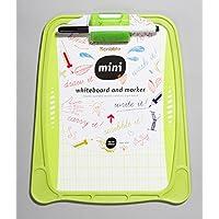 Scribble 'Mini' Kids Hand Held Double Sided Whiteboard in Green