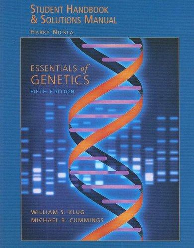 Download Essentials Of Genetics Student Handbook Solutions Manual