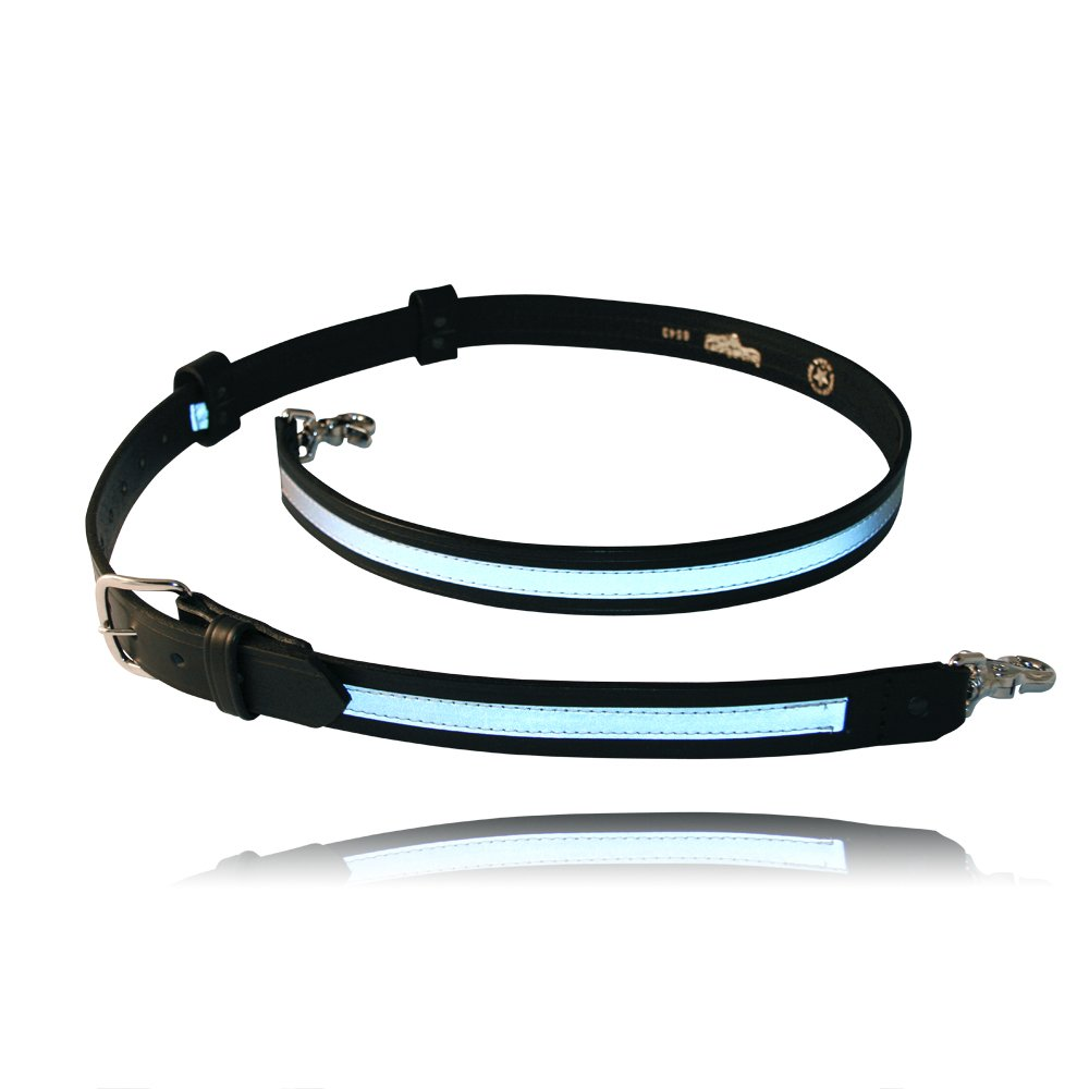 """Firefighter's Radio Strap with 1/2"""" Reflective Ribbon, 8"""" Longer"""