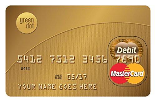 green dot reloadable prepaid mastercard amazoncom credit cards - Mastercard Prepaid Card