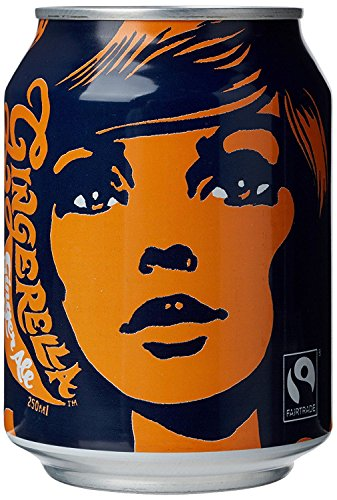 Karma Cola Fairtrade Organic Gingerella Ginger Ale 250ml (Pack of 24) by Karma Kola