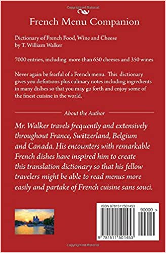 AmazonCom French Menu Companion Dictionary Of French Food Wine