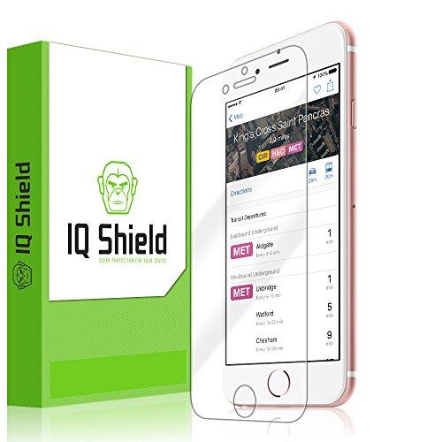 iPhone 6S Screen Protector, IQ Shield LiQuidSkin Full Coverage Screen Protector for iPhone 6S (iPhone 6 4.7 ) HD Clear Anti-Bubble Film - with